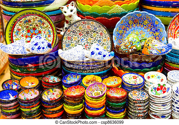 Turkish Ceramics - csp8636099