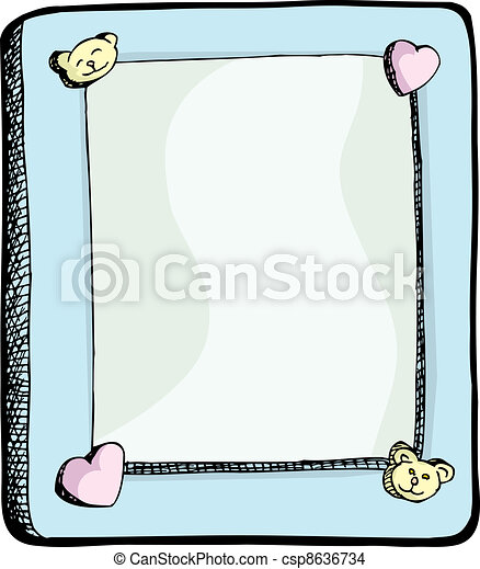 Cute Picture Frame - csp8636734