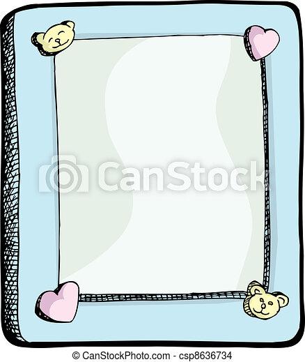 Cute Picture Frame - csp8636734
