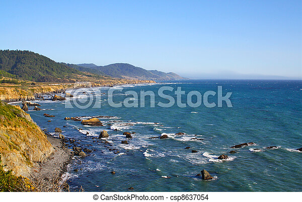 West Coast Sea - csp8637054