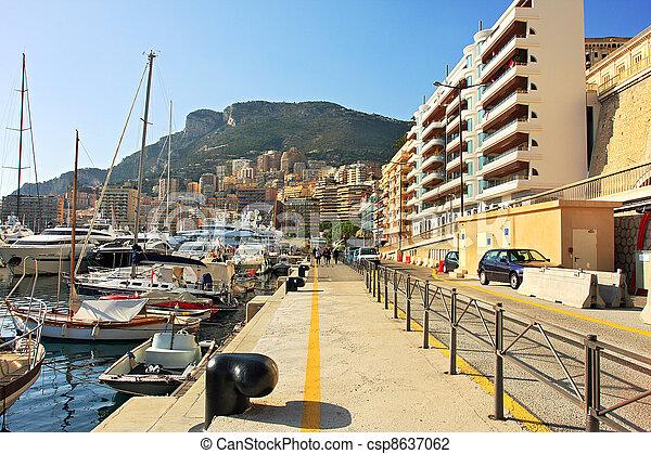 Monte Carlo promenade. - csp8637062