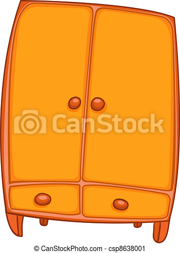 Cartoon Home Furniture Wardrobe - csp8638001