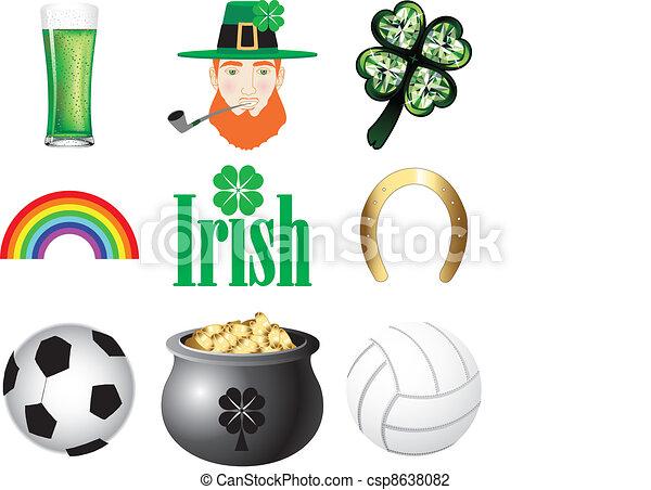Ireland Icons  - csp8638082