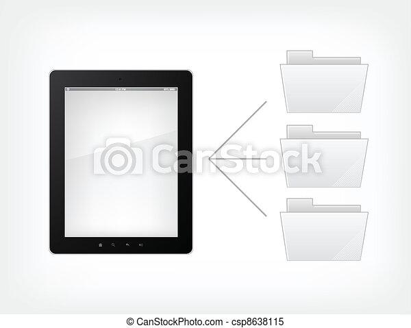 Document Concept - csp8638115