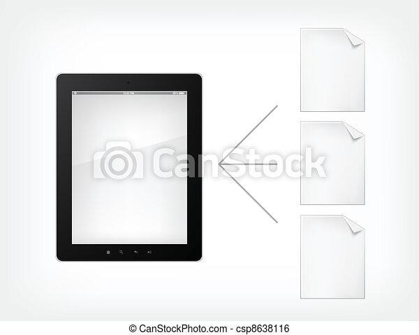 Document Concept - csp8638116