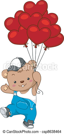 Balloon Delivery - csp8638464