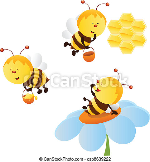 Bee Set - csp8639222