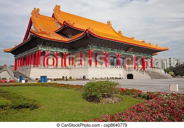 the National Taiwan Democracy Squar - csp8640779