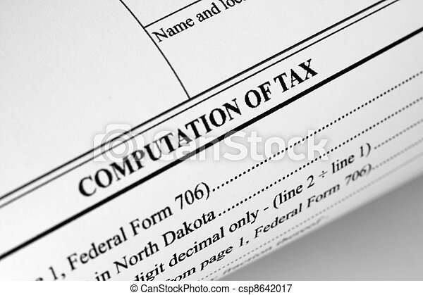 Computation of tax - csp8642017