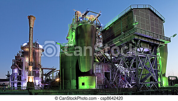 steel industry blast furnace - csp8642420