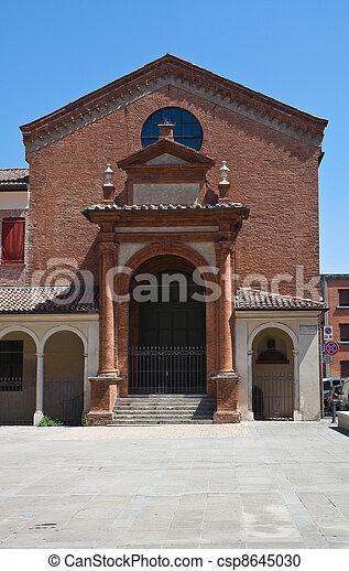 Oratory of St. Anna. Ferrara. Emilia-Romagna. Italy. - csp8645030
