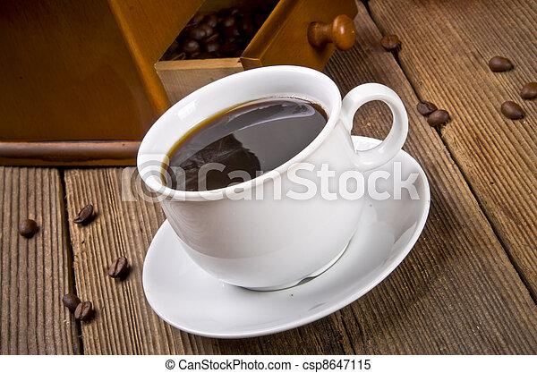 Rustic coffee grinder - csp8647115