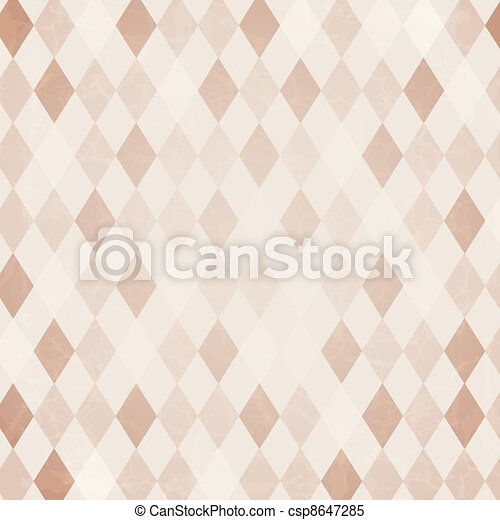 Retro Harlequin Background - csp8647285