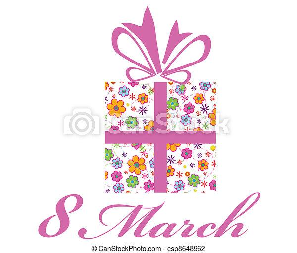 8 March - csp8648962