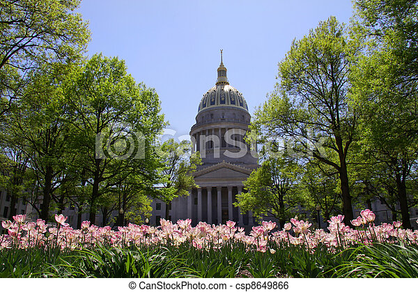 West Virginia capital - csp8649866