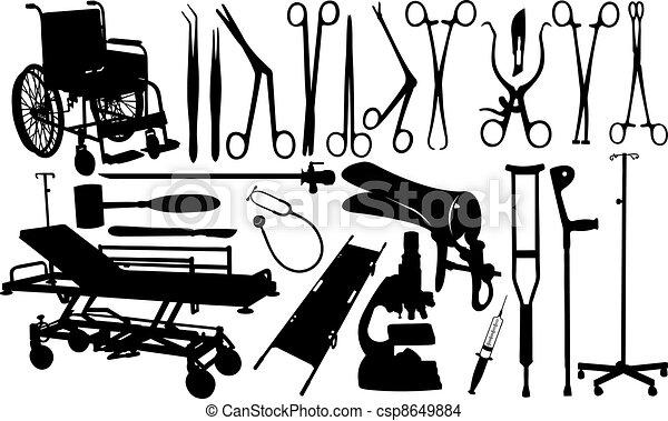 medical insteruments - csp8649884
