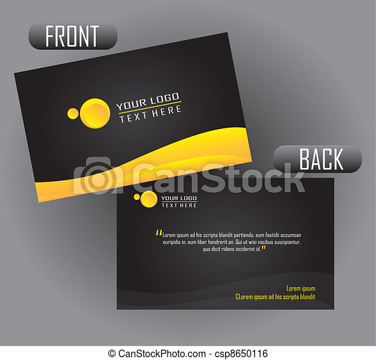 presentation card - csp8650116