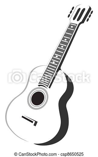 Guitare Acoustique Tatouage Stock Vector Tattoo Clm Căutați Ui Găsiți