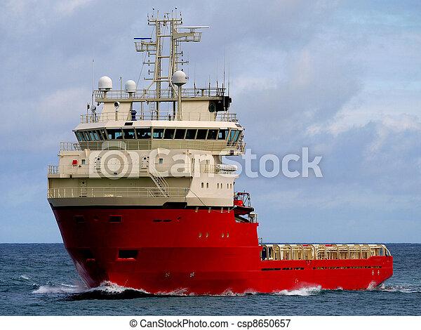 Plate forme de bateau