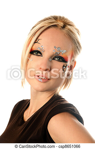 Fantasy make-up - csp8651066