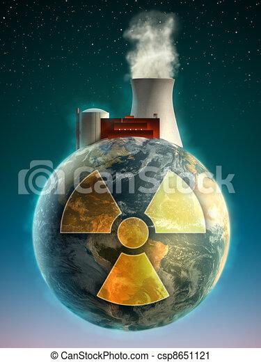 Nuclear Earth - csp8651121
