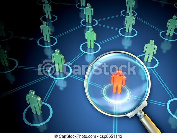 People Finder - csp8651142