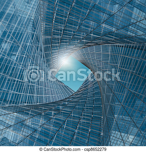 Engineering tunnel - csp8652279