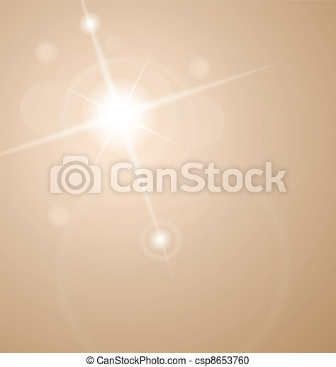 abstract star with lenses flare - csp8653760