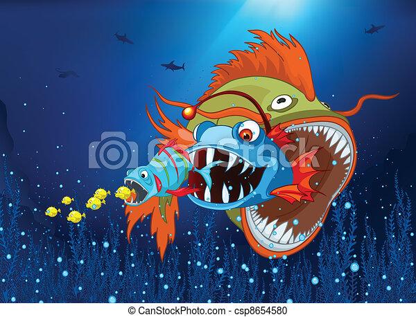Ocean Underwater World - csp8654580