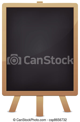 Empty Blackboard For Advertisement - csp8656732