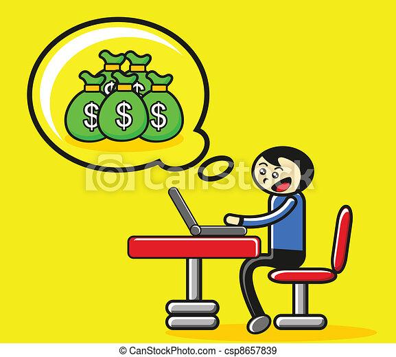 business activity - csp8657839