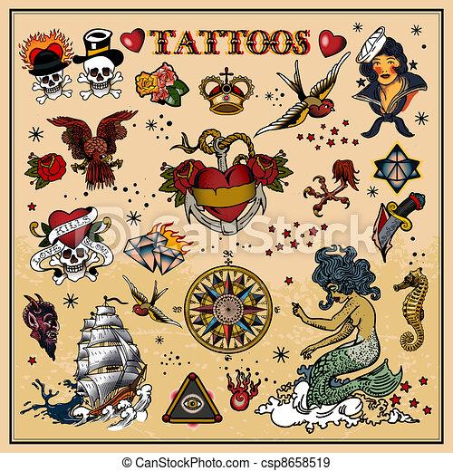 Tattoos - csp8658519