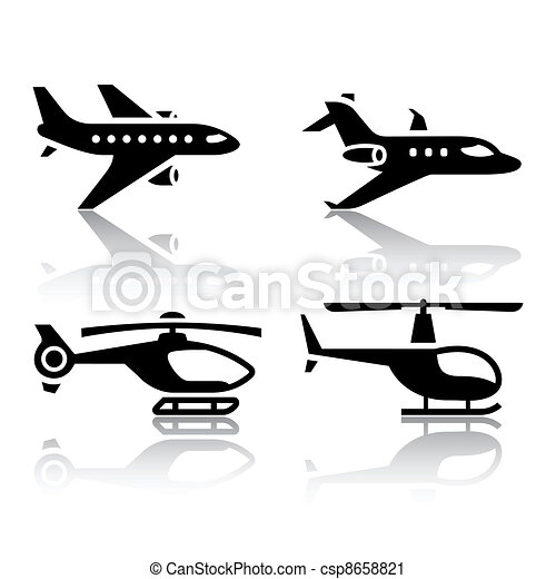 Set of transport icons  - csp8658821