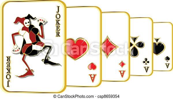 vector joker - csp8659354
