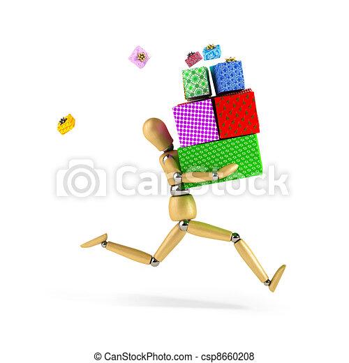 Shopping Rush - csp8660208