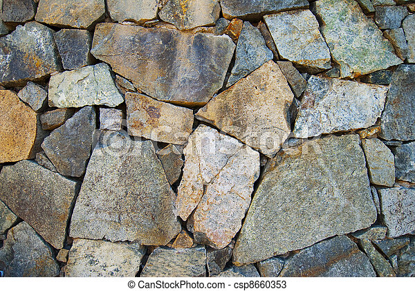 Rock texture background.  - csp8660353