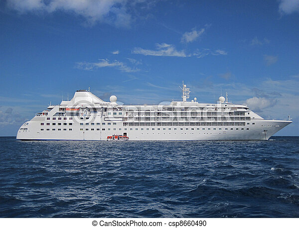Large cruise ship      - csp8660490