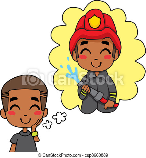 eps vectors of cute fireman boy cute little black boy Fireman Clip Art Black Full Page Fireman Clip Art Black Full Page