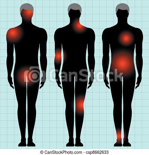 human body - csp8662633