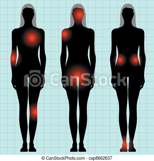 human body - csp8662637