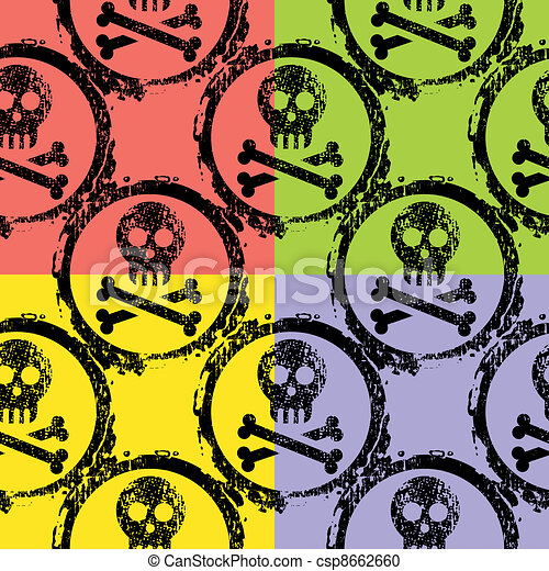 wallpaper of skulls - csp8662660