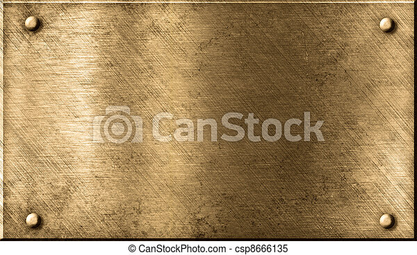 grunge metal background - csp8666135