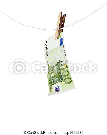Laundering money - csp8666239