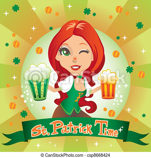Saint Patrick Time - csp8668424