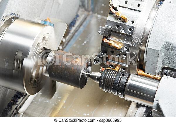 metal blank machining process - csp8668995