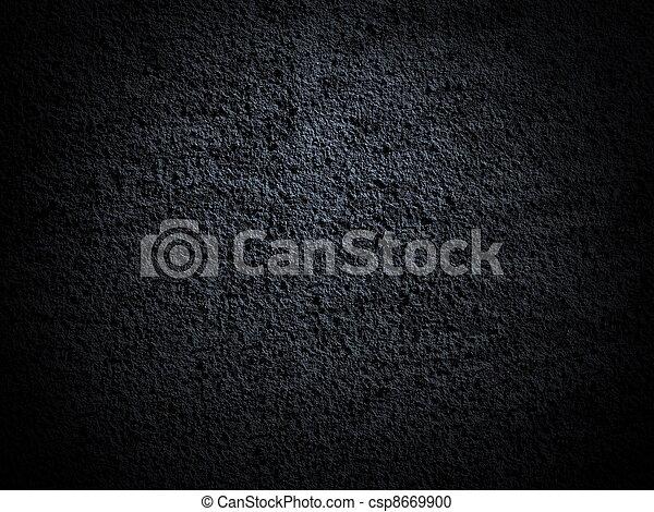 photo dark wall background, texture - csp8669900