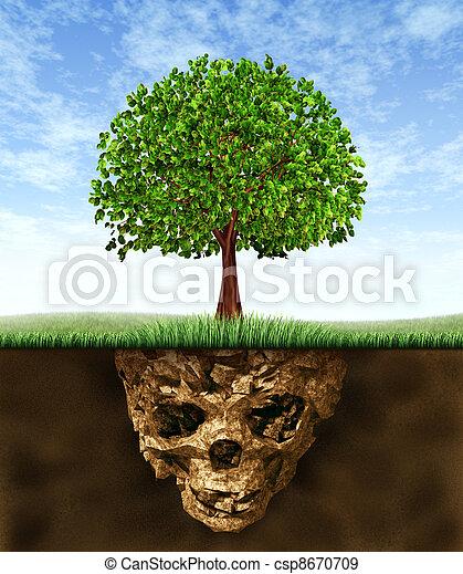 Toxic Soil - csp8670709