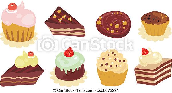 Desserts Set - csp8673291