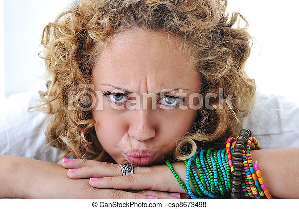Stock Photo - Teen girl with