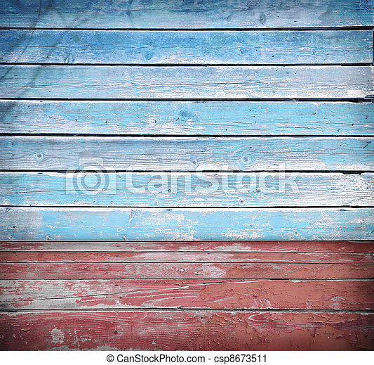 Wooden background board - csp8673511